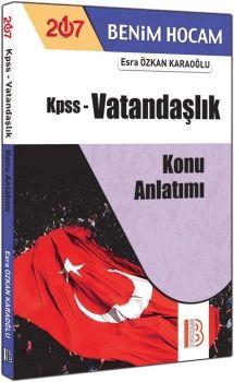 Benim Hocam Yayınları 2017 KPSS Vatandaşlık Konu Anlatımı