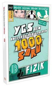 Benim Hocam Yayınları YGS den Önce Çözülmesi Gereken 1000 Fizik Soru Bankası