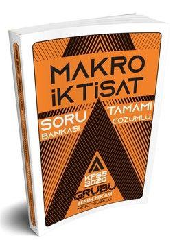 Benim Hocam Yayınları KPSS A Grubu Makro İktisat Tamamı Çözümlü Soru Bankası