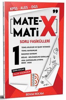 Benim Hocam Yayınları KPSS ALES DGS TYT Matematix Soru Fasikülleri 1