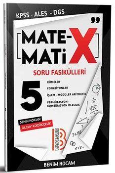 Benim Hocam Yayınları KPSS ALES DGS TYT Matematix Soru Fasikülleri 5