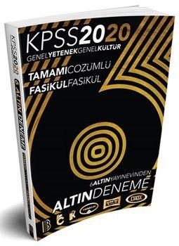 Benim Hocam Yayınları 2020 KPSS Genel Yetenek Genel Kültür Çözümlü Fasikül Fasikül 6 Altın Deneme
