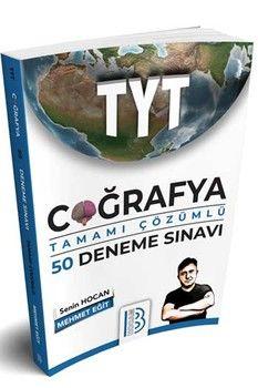Benim Hocam Yayınları TYT Coğrafya Tamamı Çözümlü 50 Deneme Sınavı