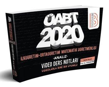 Benim Hocam Yayınları 2020 ÖABT İlköğretim ve Ortaöğretim Matematik Öğretmenliği Video Ders Notları