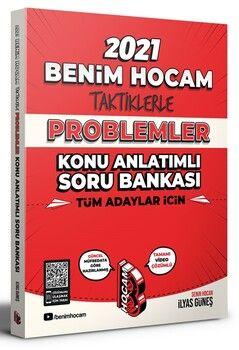 Benim Hocam Yayınları Tüm Adaylar İçin Taktiklerle Problemler Konu Anlatımlı Soru Bankası