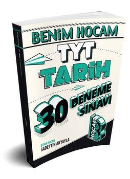 Benim Hocam Yayınları TYT Tarih 30 Deneme Sınavı