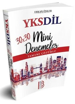 Benim Hocam Yayınları YKSDil 30x30 Tamamı Çözümlü Mini Denemeler