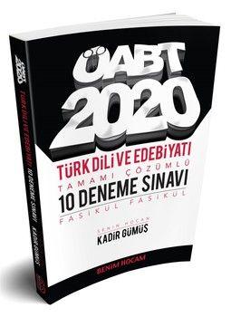 Benim Hocam Yayınları 2020 ÖABT Türk Dili ve Edebiyatı Tamamı Çözümlü 10 Fasikül Deneme