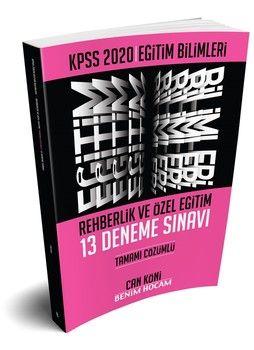 Benim Hocam Yayınları 2020 Eğitim Bilimleri Rehberlik ve Özel Eğitim Tamamı Çözümlü 13 Deneme