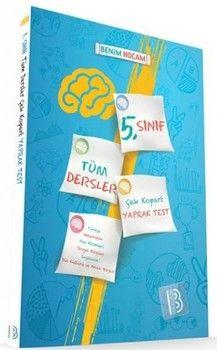 Benim Hocam Yayınları 5. Sınıf Tüm Dersler Çek Kopart Yaprak Test