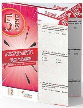 Benim Hocam Yayınları 5. Sınıf Matematik Çek Kopar Yaprak Test