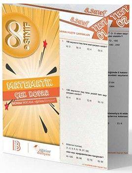 Benim Hocam Yayınları 8. Sınıf Matematik Çek Kopar Yaprak Test