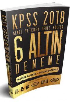 Benim Hocam Yayınları 2018 KPSS Genel Yetenek Genel Kültür Fasikül Fasikül Tamamı Çözümlü 6 Altın Deneme