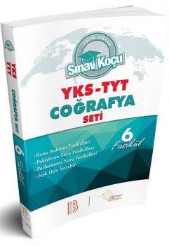 Benim Hocam Yayınları YKS 1. Oturum TYT Coğrafya Sınav Koçu Konu Anlatımlı Soru Fasikül Seti
