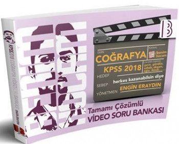 Benim Hocam Yayınları 2018 KPSS Coğrafya Tamamı Video Çözümlü Soru Bankası