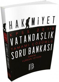 Benim Hocam Yayınları2018 KPSS Hakimiyet Vatandaşlık Tamamı Çözümlü Soru Bankası
