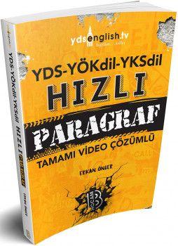 Benim Hocam Yayınları YÖKDİL YKSDİL YDS Hızlı Paragraf Soru Bankası Tamamı Video Çözümlü