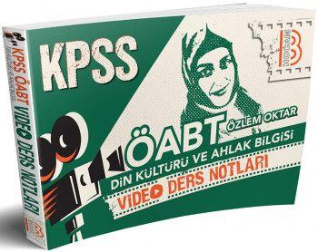 Benim Hocam Yayınları ÖABT Din Kültürü ve Ahlak Bilgisi Video Ders Notları
