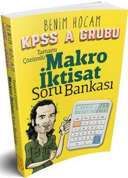 Benim Hocam Yayınları KPSS A Makro İktisat Tamamı Çözümlü Soru Bankası
