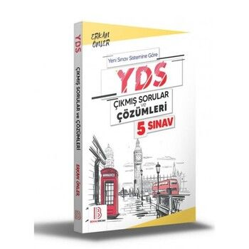 Benim Hocam Yayınları YDS Çıkmış Sorular ve Çözümleri 5 Sınav