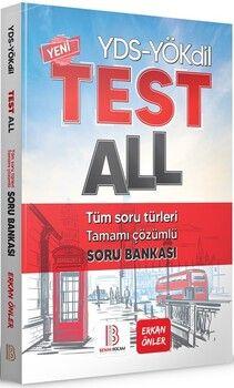 Benim Hocam YayınlarıYÖKDİL YDS Test All Tüm Soru Türleri Özgün Soru Bankası
