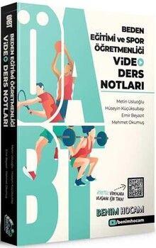 Benim Hocam Yayınları 2021 ÖABT Beden Eğitimi ve Spor Öğretmenliği Video Ders Notları