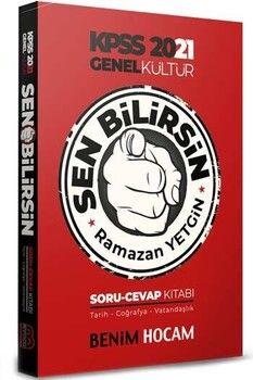 Benim Hocam Yayınları KPSS 2021 Genel Kültür Sen Bilirsin Tarih Coğrafya Vatandaşlık Soru Cevap Kitabı