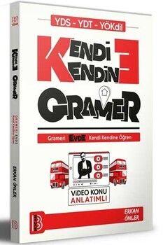Benim Hocam Yayınları YDS YDT YÖKDİL Kendi Kendine Gramer Video Konu Anlatımlı
