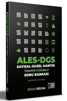 Benim Hocam Yayınları 2021 ALES DGS Sayısal Sözel Mantık Soru Bankası