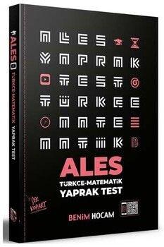 Benim Hocam Yayınları 2021 ALES Çek Kopart Yaprak Test