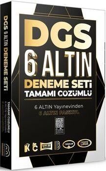 Benim Hocam Yayınları2021 DGS Tamamı Çözümlü 6 Altın Deneme