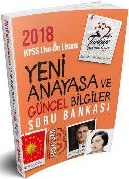 Benim Hocam Yayınları 2018 KPSS Lise Ön Lisans Yeni Anayasa ve Güncel Bilgiler Soru Bankası
