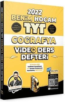 Benim Hocam Yayınları2022 TYT Coğrafya Video Ders Defteri