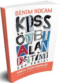 Benim Hocam Yayınları ÖABT Kimya Öğretmenliği Alan Eğitimi Cep Serisi