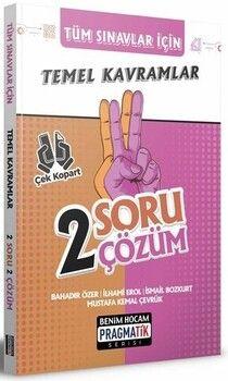 Benim Hocam Yayınları 2022 Tüm Sınavlar İçin Temel Kavramlar 2 Soru 2 Çözüm Fasikülü Pragmatik Serisi