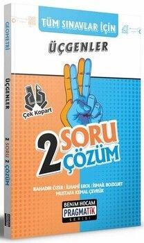 Benim Hocam Yayınları 2022 Tüm Sınavlar İçin Üçgenler 2 Soru 2 Çözüm Fasikülü Pragmatik Serisi