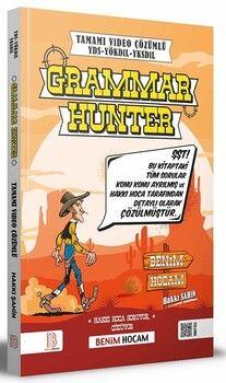 Benim Hocam Yayınları YDS YÖKDİL YDT Grammar Hunter Tamamı Çözümlü Soru Bankası
