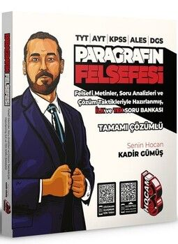 Benim Hocam Yayınları TYT AYT KPSS ALES DGS Paragrafın Felsefesi Tamamı Çözümlü Soru Bankası