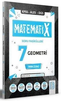 Benim Hocam Yayınları KPSS ALES DGS MatematiX Soru Fasikülleri 7