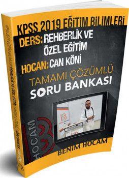Benim Hocam Yayınları 2019 KPSS Eğitim Bilimleri Rehberlik Ve Özel Eğitim Tamamı Çözümlü Soru Bankası