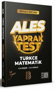 Benim Hocam Yayınları 2022 ALES Türkçe Matematik Yaprak Test