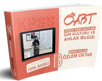 Benim Hocam Yayınları KPSS ÖABT Din Kültürü ve Ahlak Bilgisi Video Ders Notları