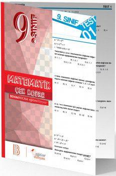 Benim Hocam Yayınları 9. Sınıf Matematik Çek Kopar Yaprak Test