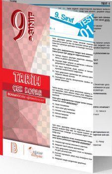 Benim Hocam Yayınları 9. Sınıf Tarih Çek Kopar Yaprak Test