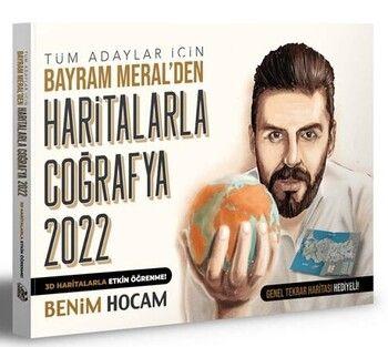 Benim Hocam Yayınları 2022 Tüm Adaylar İçin Haritalarla Coğrafya