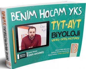 Benim Hocam Yayınları TYT AYT Biyoloji Video Ders Notları