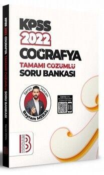 Benim Hocam Yayınları 2022 KPSS Coğrafya Tamamı Çözümlü Soru Bankası