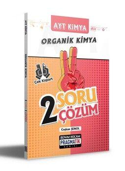 Benim Hocam Yayınları AYT Kimya Organik Kimya 2 Soru 2 Çözüm Pragmatik Serisi