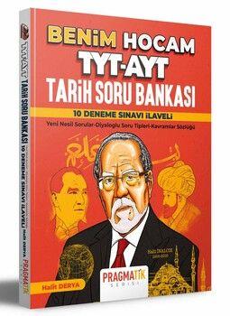 Benim Hocam Yayınları TYT AYT Tarih Soru Bankası 10 Deneme Sınavı İlaveli Pragmatik Serisi