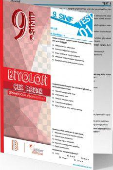 Benim Hocam Yayınları 9. Sınıf Biyoloji Çek Kopar Yaprak Test